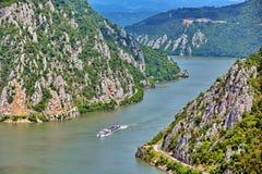 danube gorges Румыния стоковое фото