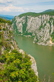 Danube gorges Royalty Free Stock Image