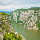 Danube gorges Royalty Free Stock Photos