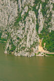 Danube gorges Royalty Free Stock Photography