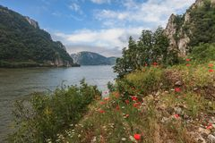 The Danube Gorges Royalty Free Stock Photography