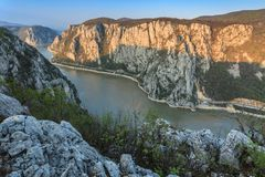 The Danube Gorges Stock Image