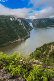 The Danube Gorges Stock Photography