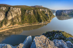 The Danube Gorges Royalty Free Stock Photo