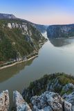 The Danube Gorges, Romani Royalty Free Stock Images