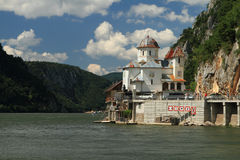 Danube gorges, Romania Royalty Free Stock Photo