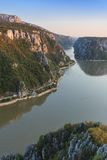 The Danube Gorges, Romania Royalty Free Stock Photos