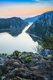 The Danube Gorges, Romania Stock Image