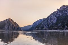 Danube Gorges, Romania Royalty Free Stock Photography