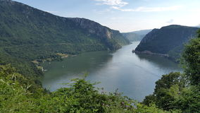 Danube Gorges Royalty Free Stock Images