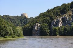 Danube in Kelheim Royalty Free Stock Images