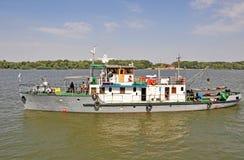 Danube krajobrazy Zdjęcia Royalty Free