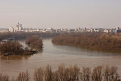 Danube landscape Royalty Free Stock Photos