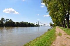 Danube near Metten, Bavaria Stock Photos