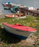 Danube łodzie Obrazy Stock