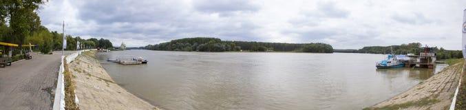 Danube at Calarasi  Stock Image