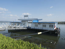 Danube port, Drobeta-Turnu Severin, Rumunia Zdjęcia Royalty Free