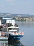 Danube port, Drobeta-Turnu Severin, Rumunia Fotografia Royalty Free