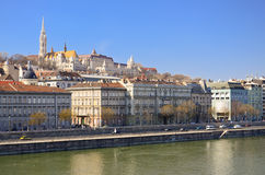 Danube river. stock photography