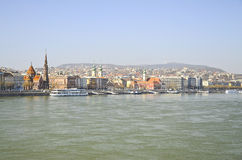 Danube river. royalty free stock image