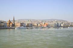 Danube river. Royalty Free Stock Image