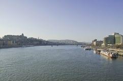 Danube river. Stock Photo