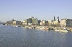 Danube river. Royalty Free Stock Photos