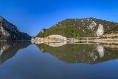 Danube River royaltyfria bilder