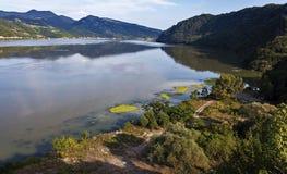 Danube River 7 Royaltyfri Fotografi