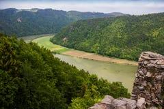 Danube river. Austria. Summer on Danube river. Austria stock image