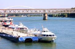 Danube river - Bratislava Royalty Free Stock Photo
