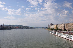 Danube river Budapest cityscape Stock Photo