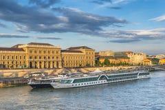 The Danube River in Budapest Stock Photo