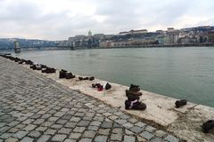 The Danube River in Budapest Stock Photos