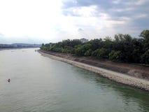 Danube river in Budapest Stock Images