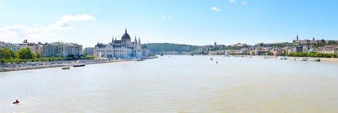 Danube river. Budapest Royalty Free Stock Photo