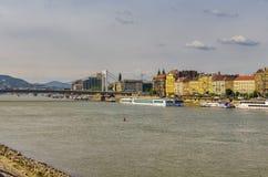 Danube river in Budapest Stock Image