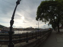 Danube River framdel Royaltyfri Foto