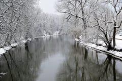 Danube River i tuttlingen Arkivbilder