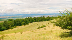 Danube river and landscape Royalty Free Stock Photo