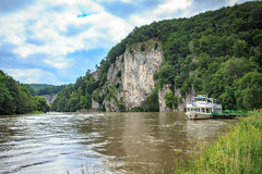 Danube river Royalty Free Stock Photos
