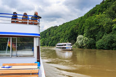 Danube river Stock Photos