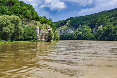 Danube river Royalty Free Stock Photo