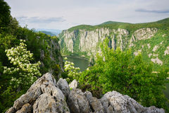 The Danube River, Romania Stock Image