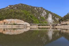 Danube River, Romania Stock Image