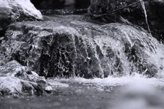 Flowing river Royalty Free Stock Photography