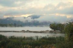 Danube River Rumänien Royaltyfri Bild