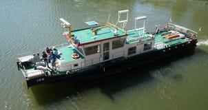 Danube River Service Boat Stock Photography