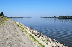 The Danube river Stock Photo