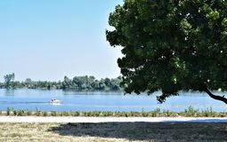 The Danube river Royalty Free Stock Photography